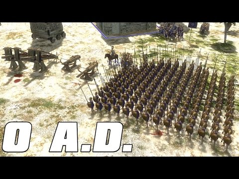 0 A.D. Gameplay - THE MACEDONIAN ARMY