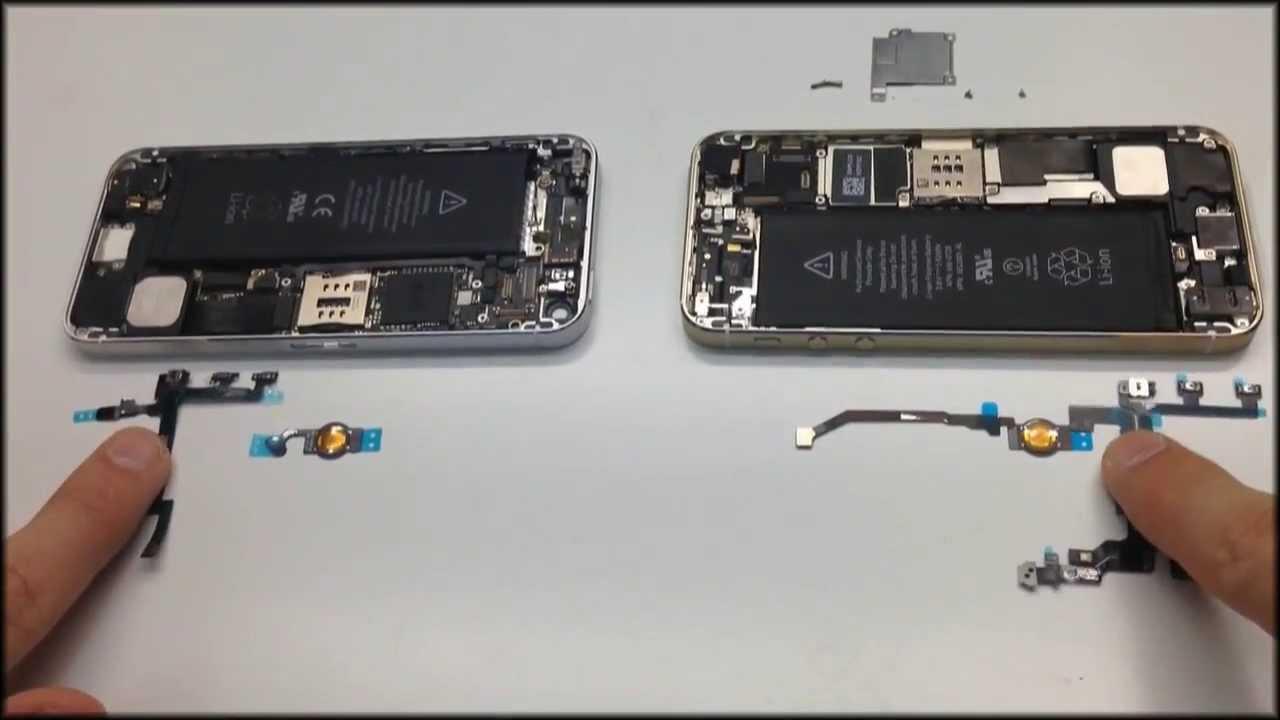 Схема разбора iphone 5s