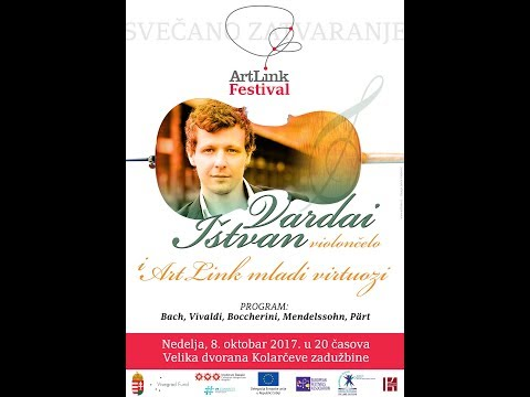 ArtLink Festival Closing CONCERT: István Várdai, cello and the ArtLink Balkan Young Virtuosi