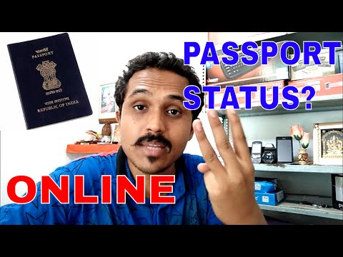 HOW TO CHECK/TRACK PASSPORT APPLICATION STATUS ONLINE? 3 WAY'S!! (HINDI 2017)