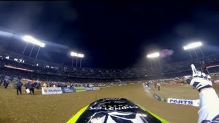 GoPro: Ryan Villopoto and Davi Millsaps Main Event 2013 Monster Energy Supercross from Oakland, CA
