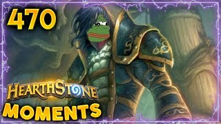 Garrosh Secret Weapon??  | Hearthstone Daily Moments Ep. 470