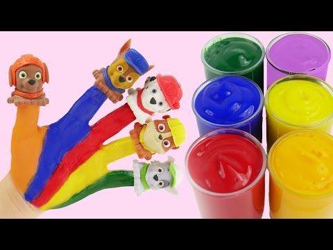 Learn Colors Video for Children Baby Doll Painted Hands Finger Family Nursery Rhymes Compilation