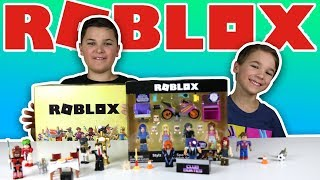 UNBOXING NEW ROBLOX TOYS!!!