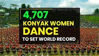 Nagaland: Over 4,700 Konyak women dance to set world record in Mon
