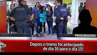 Procuradora grita com Fernando Mendes da Juve Leo