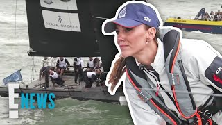 Kate Middleton & Prince William Face Off in Boat Race   E! News