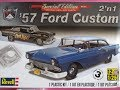 How to Build the 1957 Ford Custom 1:25 scale Revell Model Kit 85-4283 Review