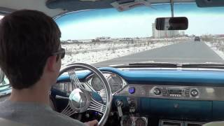 1956 Chevy Bel Air Test Drive