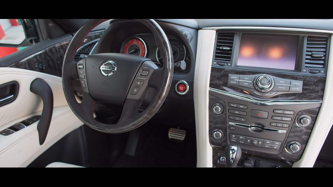 2016 Nissan Patrol Nismo Interior - YouTube