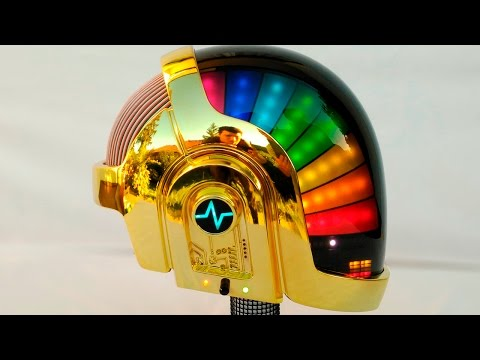 This Homemade Daft Punk helmet is harder, better, faster, stronger than the real ones