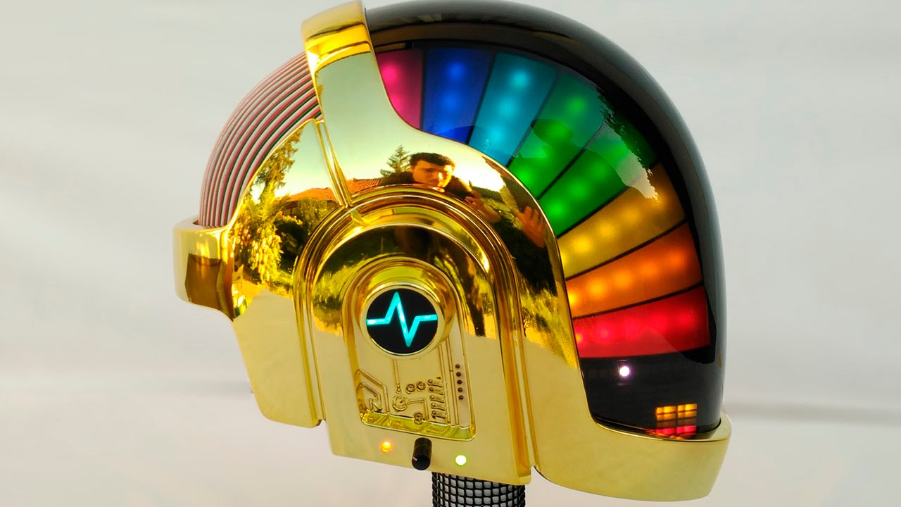 Lose yourself to dance in this DIY Daft Punk helmet - CNET