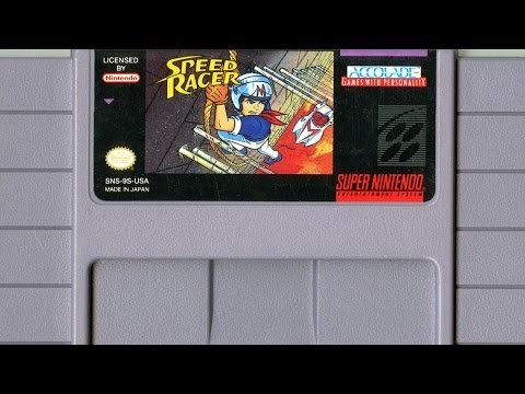 CGR Undertow - SPEED RACER review for Super Nintendo