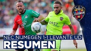 Goals & Highlights NEC Nijmegen 1-1 Levante UD
