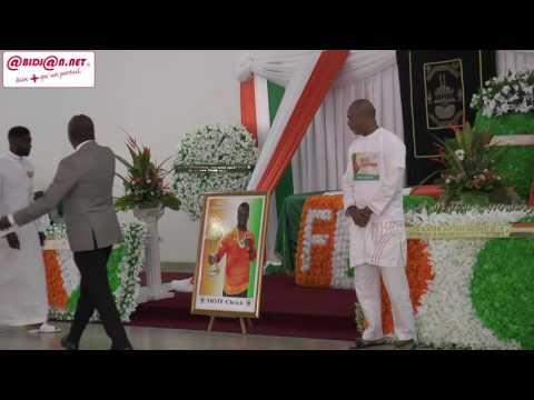 Levée de corps de Cheick Tioté: les honneurs à IVOSEP (Moments forts)