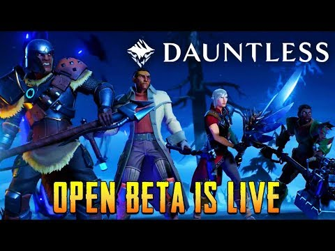 Let Me Try A New Game Dauntless @ This could me a nice game