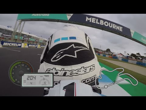 GoPro™: On-Board lap at Phillip Island