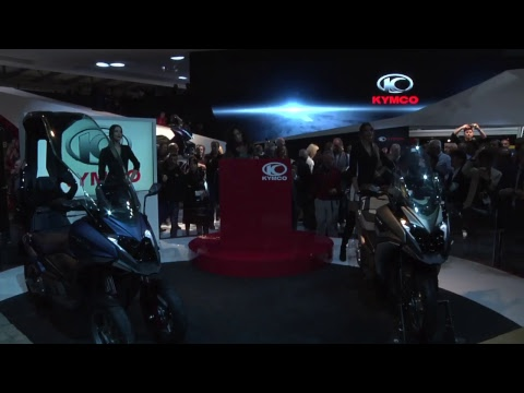 KYMCO Global Press Conference at EICMA 2017