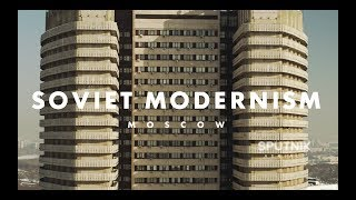 Moscow Soviet Modernism (DJI Inspire 2 + Zenmuse X7) // Советский модернизм в Москве