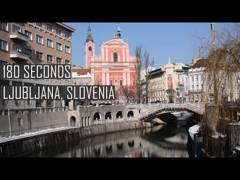 180 Seconds in Ljubljana, Slovenia | Travelling Tom