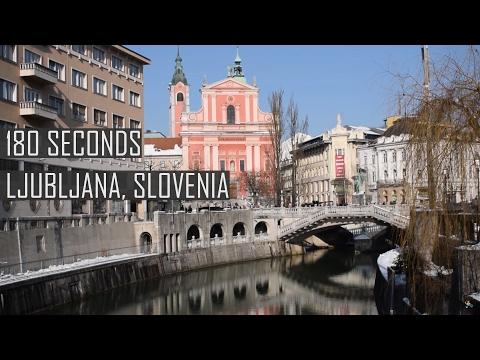 180 Seconds in Ljubljana, Slovenia | Travelling Tom
