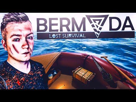 Bermuda - Lost Survival #01 - POŁĄCZENIE RAFTA I STRANDED DEEP?! | Vertez