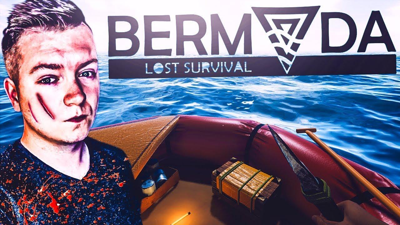Bermuda – Lost Survival #01 – POŁĄCZENIE RAFTA I STRANDED DEEP?! | Vertez