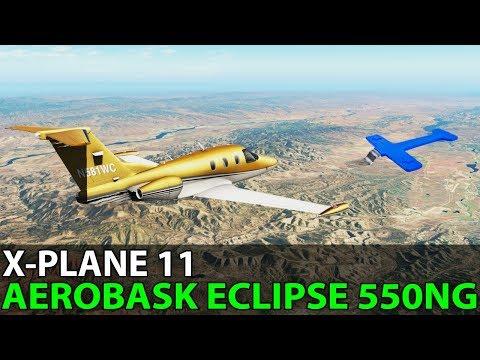 The Santa Barbara Shutdown, Aerobask Eclipse 550NG, PilotEdge ✈️ 2018-04-27