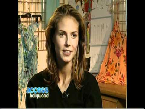 HEIDI KLUM AT 18 YEARS OLD - BIO & INTERVIEW & GETS HER FLIRT ON WITH BILLY - 2010 - VOB