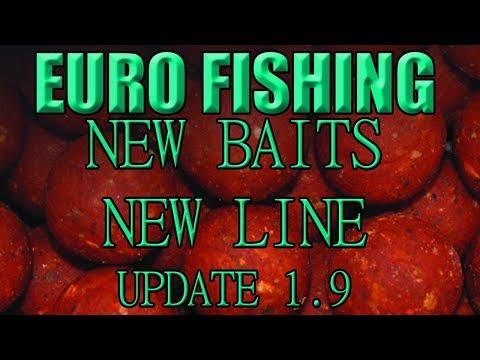 Euro Fishing | Live Stream, Update 1.9 New Baits & New Line