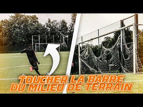 TOUCHER LA BARRE DU MILIEU DE TERRAIN C'EST POSSIBLE? DEFI FOOTBALL