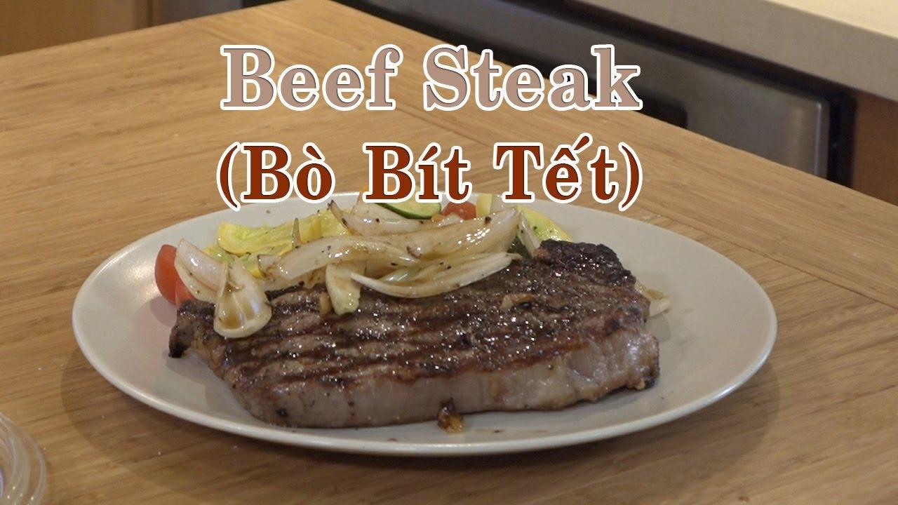 Cách làm bò bít tết (Beef Steak) Cực Ngon, Dễ Làm – Món Ăn Ngon -Youtube