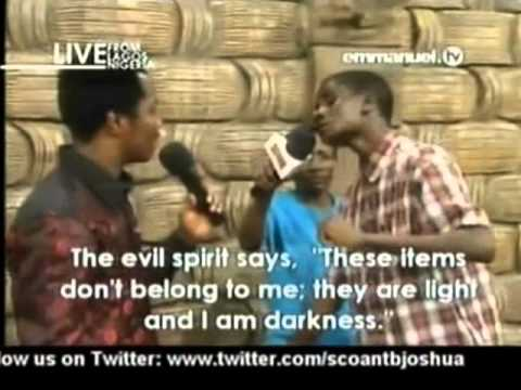 SCOAN. Deliverance Man From Three Kings of Kingdom Darkness