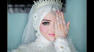 Gambar cover ya habibal qolbi versi sabyan  | Fitria dan Safianto | wedding muslimah | masmalstudio