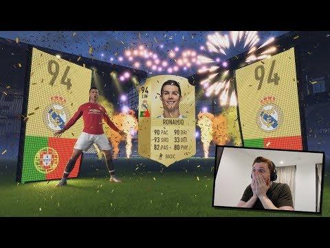 OMFG RONALDO IN A PACK!!! Insane FIFA 18 Pack! MMM EP25