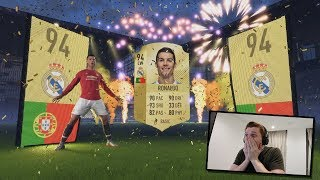 OMFG RONALDO IN A PACK!!! Insane FIFA 18 Pack! MMM EP25