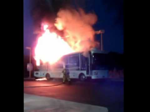 Band of Oz Bus Fire