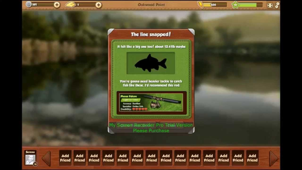 Dan and i playing fishing world youtube for Fish world on facebook