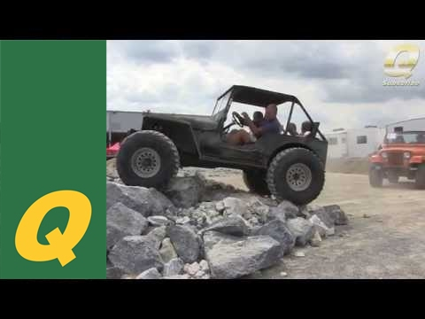 Jeep Willys With 35 Quot Tires On The Rocks York Pa Youtube