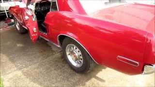1968 Mustang 289 C.I. Open header exhaust clip