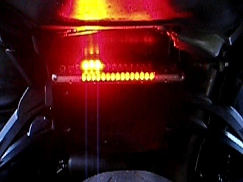 07 Zx6r Night Rider Tail Light Youtube