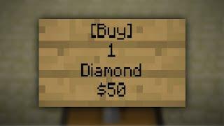 Minecraft- SignShop | PLUGIN TUTORIAL