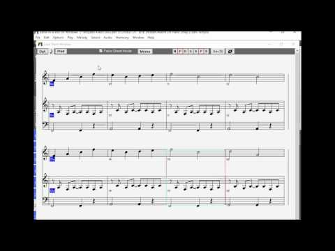 Melody Based Composing - Melody Sketch Pad and Band in a Box