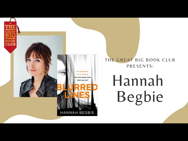 Author of the Week: Hannah Begbie on 'Blurred Lines'