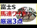 2018富士ステークス~人気馬2頭に死角アリ!?名マイラーの資格を持つこの馬なら休み明…