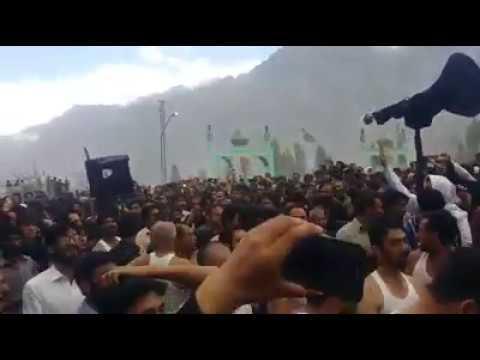 اسد عاشورا دستیےعباسیہ اولڈنگ   زینب لا چارا..............