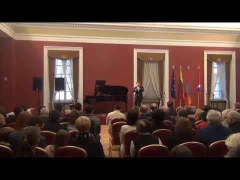 Events dedicated to the 101st  Anniversary of Armenian Genocide in Lithuania