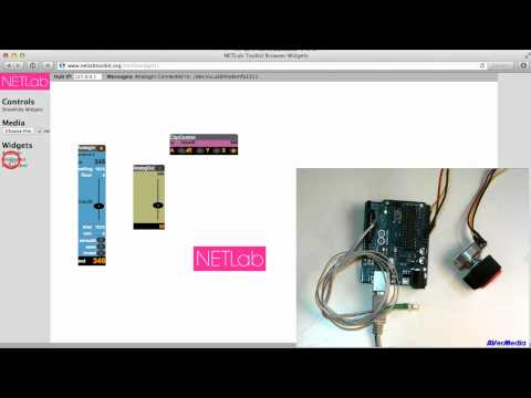HTML5 NETLab Toolkit Widgets Demo
