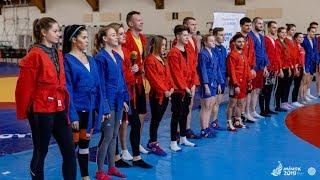 Bright sambo training с чемпионами Мира и Европы