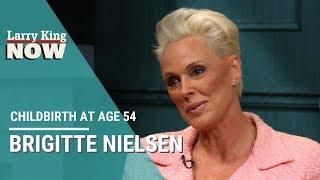 Brigitte Nielsen On Childbirth At Age 54